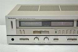 Technics AM FM Stereo Receiver SA 222