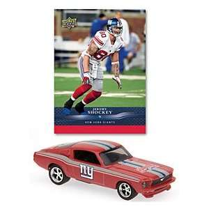 New York Giants Jeremy Shockey 164 1967 Ford Mustang Fastback with