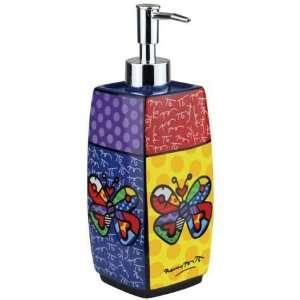Romero Britto Butterfly Soap Dispenser from Westland