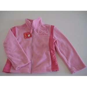 Hello Kitty Infants Girl Fleece Jacket 2T Pink/Light Pink New Baby