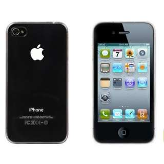 Clear Crystal Air Jacket Ultra Thin Hard Case Cover Skin for iPhone 4