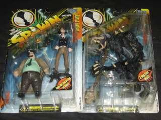 Todd McFarlanes Spawn Series 7 Action Figures Set
