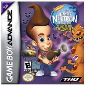 Jimmy Neutron Attack of Twonkies for Nintendo Game Boy