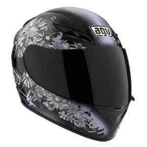AGV K3 Fluers Full Face Motorcycle Helmet Pink Multi