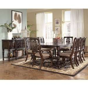 Holloway Formal Dining Room Set W Arm Chairs D696 Fdr Set