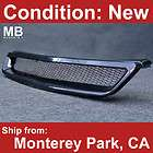 Front Grille Grill Honda Civic 99 00 Black Mesh JDM Style Racing VIP
