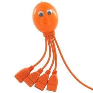 Octopus 4 Port USB Hub, High Speed, 4 Legged Octopus