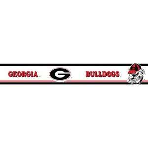 Georgia Bulldogs Wallpaper Border Trademarx: Everything