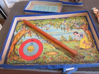 Walt Disney's Snow White and the Seven Dwarfs Target Game 1938