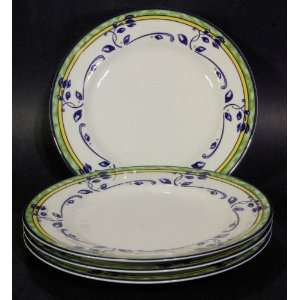 Princess House Veranda French Provincial Salad Plates   Set of 4