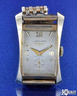 Fine & Rare Longines Hour Glass 14K Y/G Watch