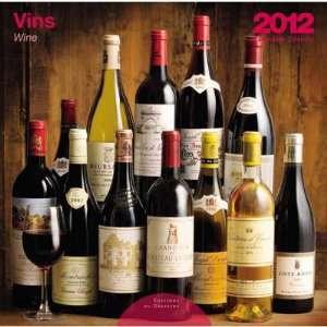 Wine 2012 Photograph Wall Calendar