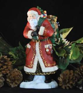 PIPKA FATHER CHRISTMAS VISITS SANTA NEW FOR 2011 W/ COA LIMITED