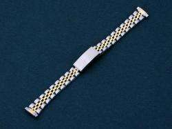 11 14 mm Ladies Two Tone Stainless Steel Watch Band