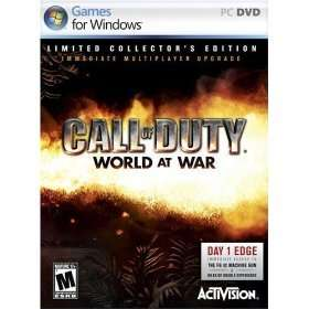 New Call of Duty World at War (PC) collectors edition 047875332478