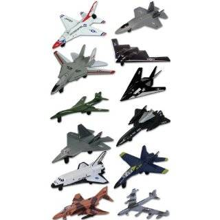 World War II Replica Fighter Air Planes  Set of six Toys