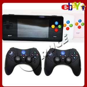 Emulator Game RMVB AVI MP4 Player Console+Two Wireless Controllers
