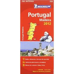 PORTUGAL (733) MAPA *12*.MICHELIN. (9782067171329) Agapea