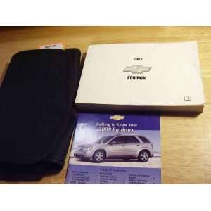 2008 Chevrolet Chevy Equinox Owners Manual Chevrolet Books