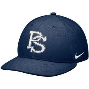 Nike Penn State Nittany Lions Navy Blue Baseball Authentic 643 Fitted