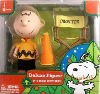 Peanuts Deluxe CHARLIE BROWN DIRECTOR figure