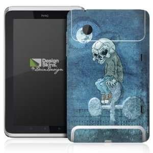 Design Skins for HTC Flyer Rueckseite   Pokerskull Design