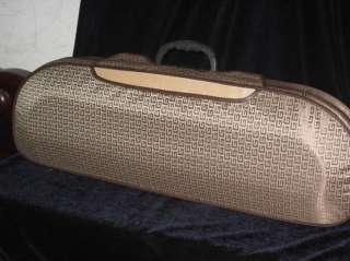High quality half moon violin case,fine workmanship