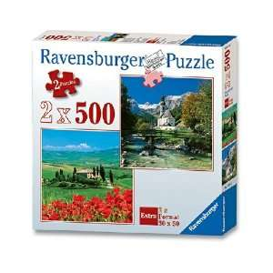 Tuscany / Germany 2 In A Box Jigsaw Puzzle 500pc Toys