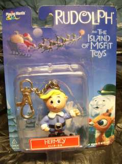 ISLAND OF MISFIT TOYS CLIP ON ORNAMENT HERMEY NEW