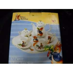 Peter Rabbit 10 Piece Mini Tea Set Toys & Games