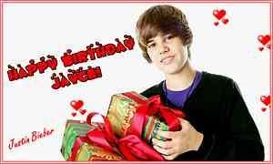 Justin Bieber Frosting Sheet Edible Cake Topper