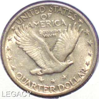 1923 P STANDING LIBERTY QUARTER SCARCE DATE SILVER (NS+