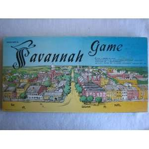 Historic Savannah Game, signed by Mayor John Rousakis