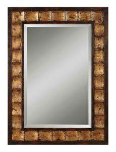 Large BRITISH TRADITIONS Wood WALL MIRROR Rectangle Beveled NEW