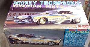 Jo Han Mickey Thompsons Titanium Pinto Funny Car Open