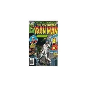 Iron Man #193 Denny ONeill  Books