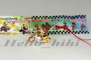 Nintendo Wii Super mario Bros B/Daisy figure M/Strip