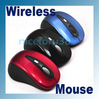 Mini USB Optical Sensor Superior Wireless Mouse for PC/Laptop 3 Color