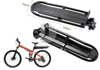 Bike Bicycle Rear Saddle Seat Rack Pannier Carrier Post