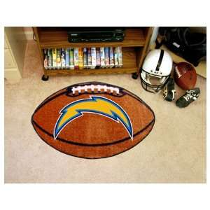 NFL San Diego Chargers 22x35 Football Mat  Sports