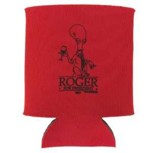 American Dad Roger for President Koozie: Home & Kitchen