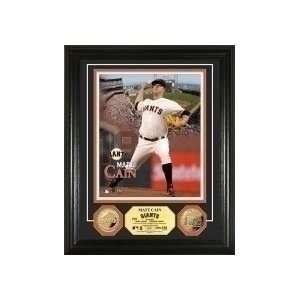 San Francisco Giants Matt Cain Gold Coin Photo Mint