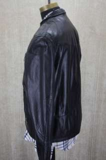 Mens Andrew Marc Che Moto Leather Jacket Large $595