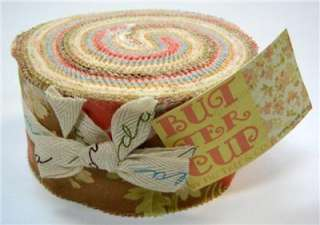 Moda FABRIC Jelly Roll ~ BUTTERCUP ~ Fig Tree Quilts