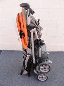 Pliko P3 Stroller * Soleo Orange/Silver
