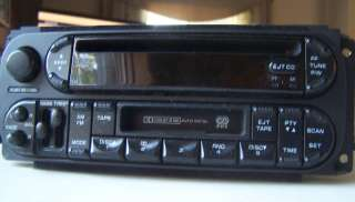 Dodge Dakota factory cassette radio with cd player