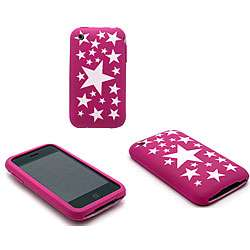Apple iPhone 3G Pink Stars Image Cover Skin