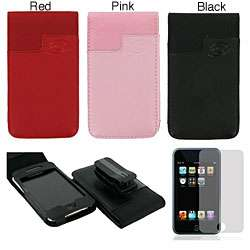 Apple iPod Touch 2G/3G Leather Case with Belt Clip