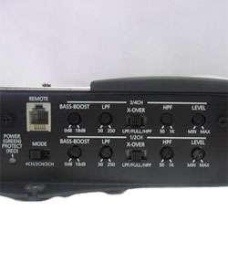 BMW 483 1000W 4 channel MOSFET Bridgeable Amplifier