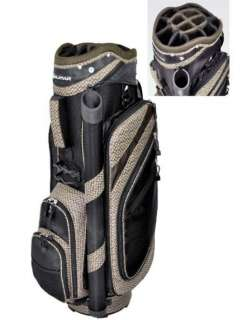 Orlimar Golf Aria Deluxe Cart Bag Black/Brown